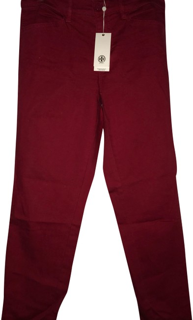 Item - Red Emmy Ankle Pants Size 10 (M, 31)