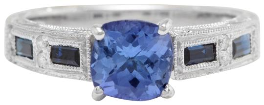 Preload https://img-static.tradesy.com/item/22427871/14k-white-gold-115ctw-natural-blue-tanzanite-and-diamond-solid-ring-0-1-540-540.jpg
