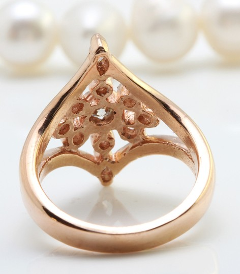 Other 1.05CTW Natural VS2 DIAMONDS in 14K Solid Rose Gold Ring