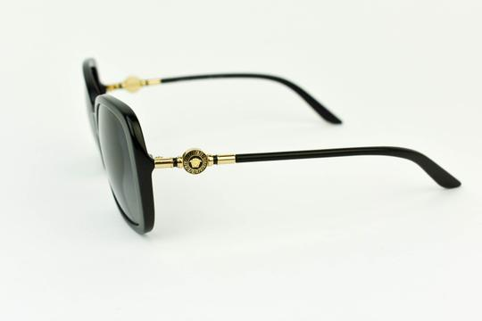 8de43690fee Versace Black   Gold Metal Logo Polarized Sunglasses - Tradesy
