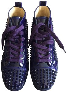 best cheap 861e9 1db8d Women's Purple Christian Louboutin Shoes Flat
