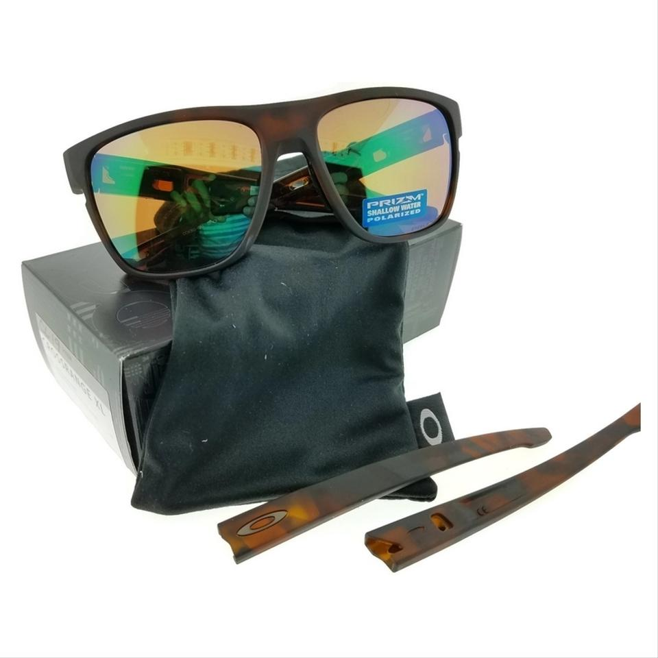 3771bf09110 Oakley OO9361-10 Crossrange Rootbeer Frame Brown Lens Polarized Sunglasses  Image 0 ...