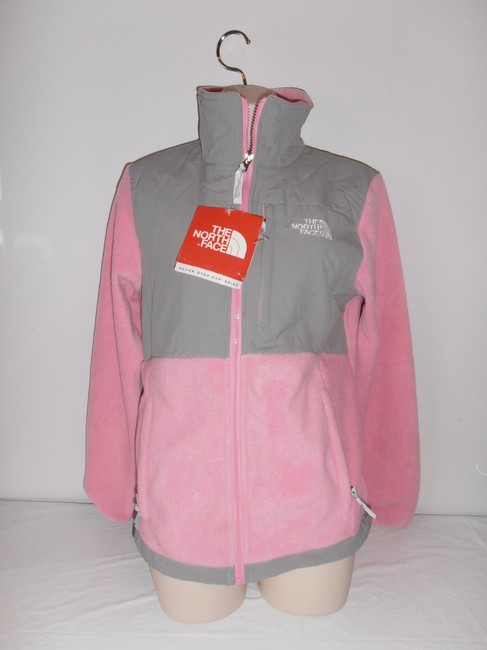 Item - Pink/Gray New Women's Denali Fleece Jacket Pink/ Gray medium Coat Size 8 (M)