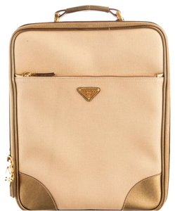 Prada Metallic Gold Travel Bag
