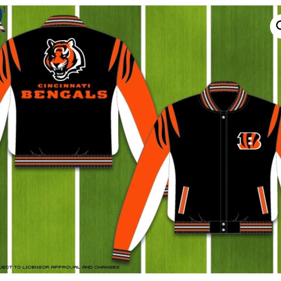 newest collection c3089 bc314 NFL Team Apparel Black and Orange Ben 013 Blk-org: Jacket Size OS (one  size) 34% off retail