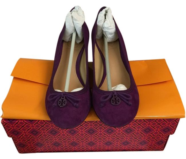 Item - Plum Wedges Size US 6.5 Regular (M, B)