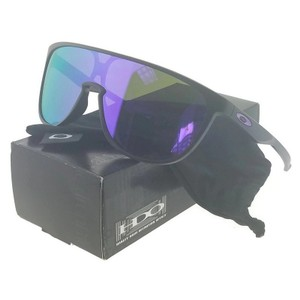 Oakley OO9318-04 Trillbe Men's Black Frame Violet Lens Genuine Sunglasses