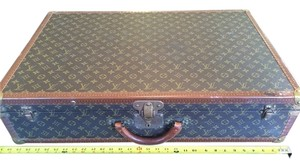 Louis Vuitton Vintage French Rare Monogram Travel Bag