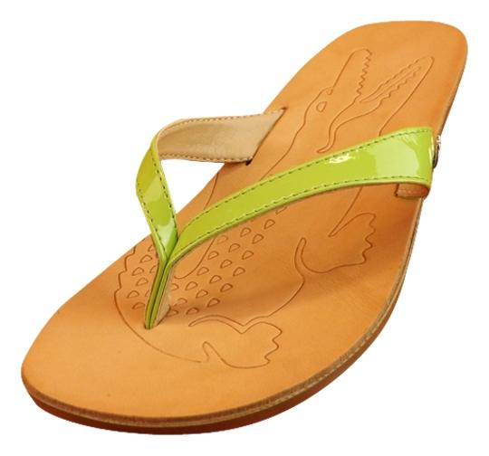 Preload https://img-static.tradesy.com/item/2243204/lacoste-green-acacia-new-patent-leather-kitten-heel-thong-flip-flops-italy-sandals-size-us-6-regular-0-0-540-540.jpg