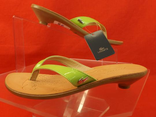 Lacoste GREEN / ACACIA Sandals