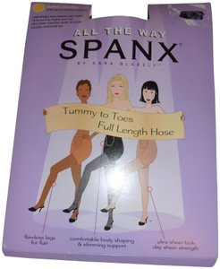 Spanx New in package: Spandex All The Way Super Control pantyhose black D