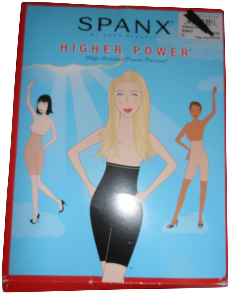 spanx barest higher power high waisted power panty size c color