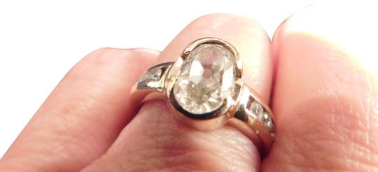 Preload https://item2.tradesy.com/images/diamond-and-gold-designed-oval-mine-cut-241-carat-ring-22432666-0-2.jpg?width=440&height=440