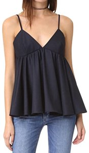 MILLY Fall Winter Wool Top NAVY