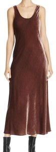 Cocoa Bean Maxi Dress by Vince