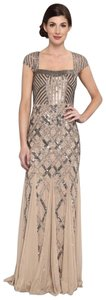 Adrianna Papell Gown Evening Sequin Dress