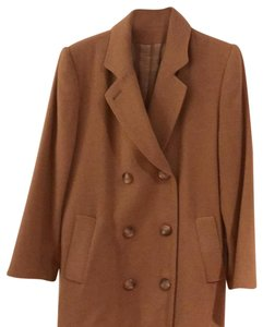 Fleurette Hair Trench Classic Belted Double Breasted Fur Coat