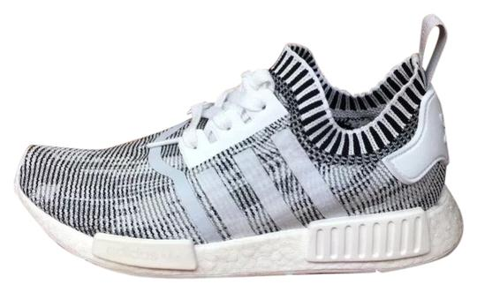 new concept 963a2 2a7a9 adidas Nmd R1 Pk Primeknit Zebra Pack Men Sneakers White and Black Sneakers  Size US Regular (M, B) 53% off retail