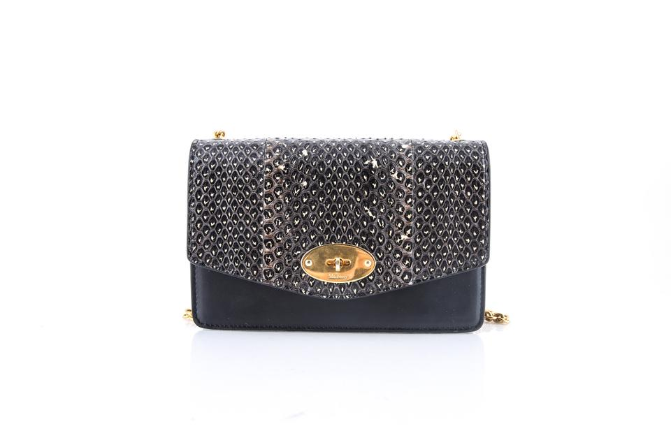97d11d7158b Mulberry Small Darley Convertible Genuine Snakeskin & Leather Clutch ...
