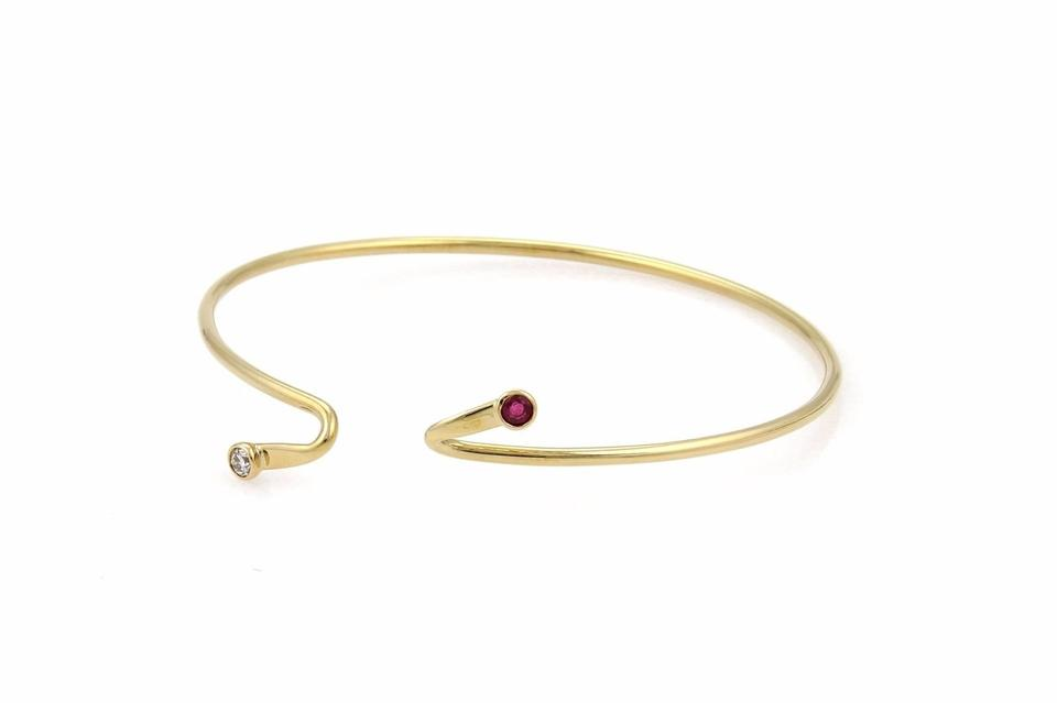faberge bracelet ruby j by august wilhem very bangles holmstrom and rare yellow gold bracelets id jewelry diamond edwardian antique bangle at l img