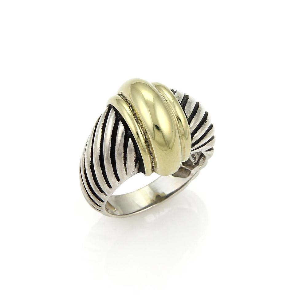 band david rings square ring cable sculpted p ebay s yurman narrow
