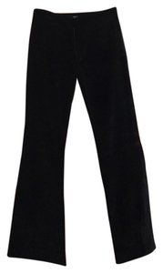 Alvin Valley Wide Leg Pants black velvet