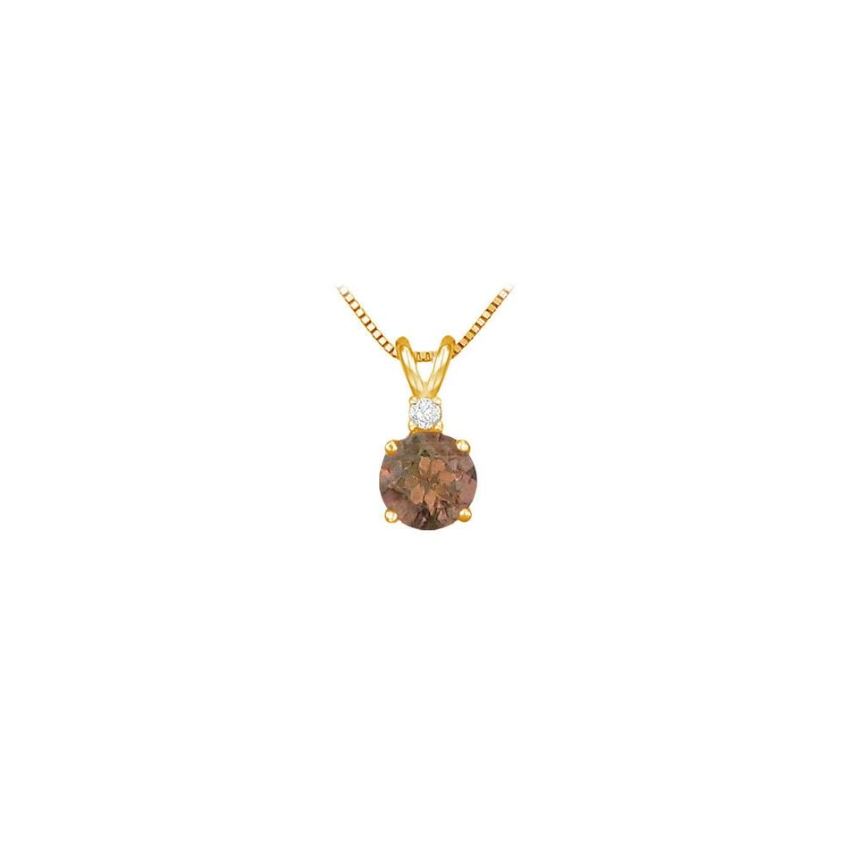 june gold birthstone pendant original disc product initial by necklace chupi pearl