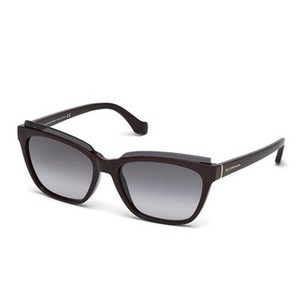 Balenciaga Balenciaga Sunglasses BA0093 69B shiny bordeaux / gradient smoke