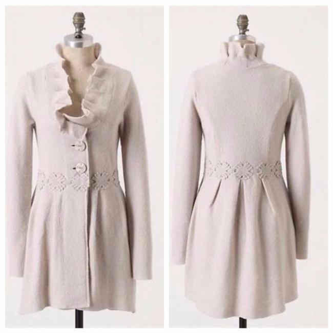 Item - Ivory Alice In Autumn Sweater By Charlie & Robin Coat Size 6 (S)
