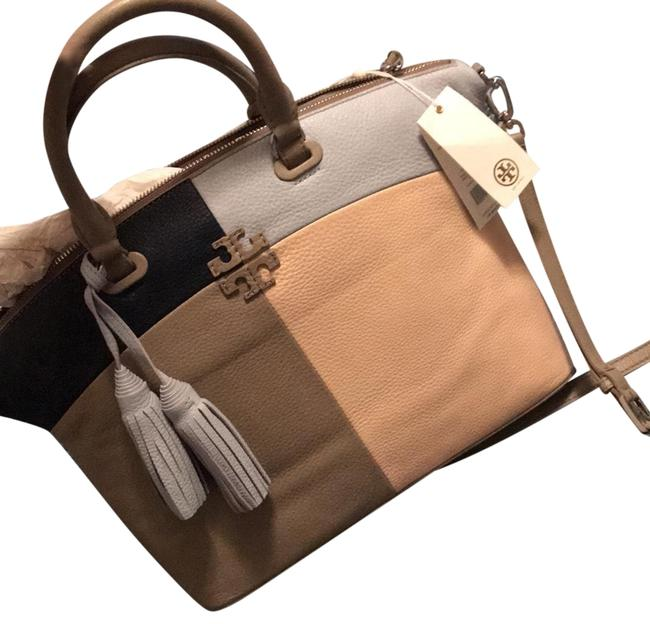 Item - Thea Slouchy French Gray / Multi Leather Satchel