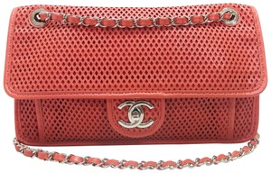 Chanel Up In The Air Red Shoulder Bag