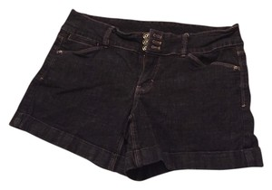 White House | Black Market Denim Shorts-Dark Rinse