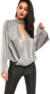 Missguided Top gray