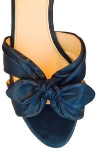 Prada With Bows Navy Blue Formal