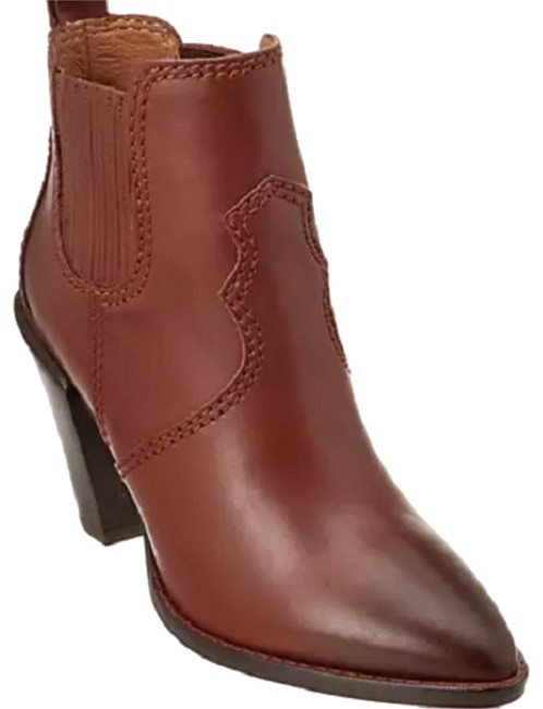 Item - Brown Saddle Westyn Dk Leather Org Boots/Booties Size US 7 Regular (M, B)