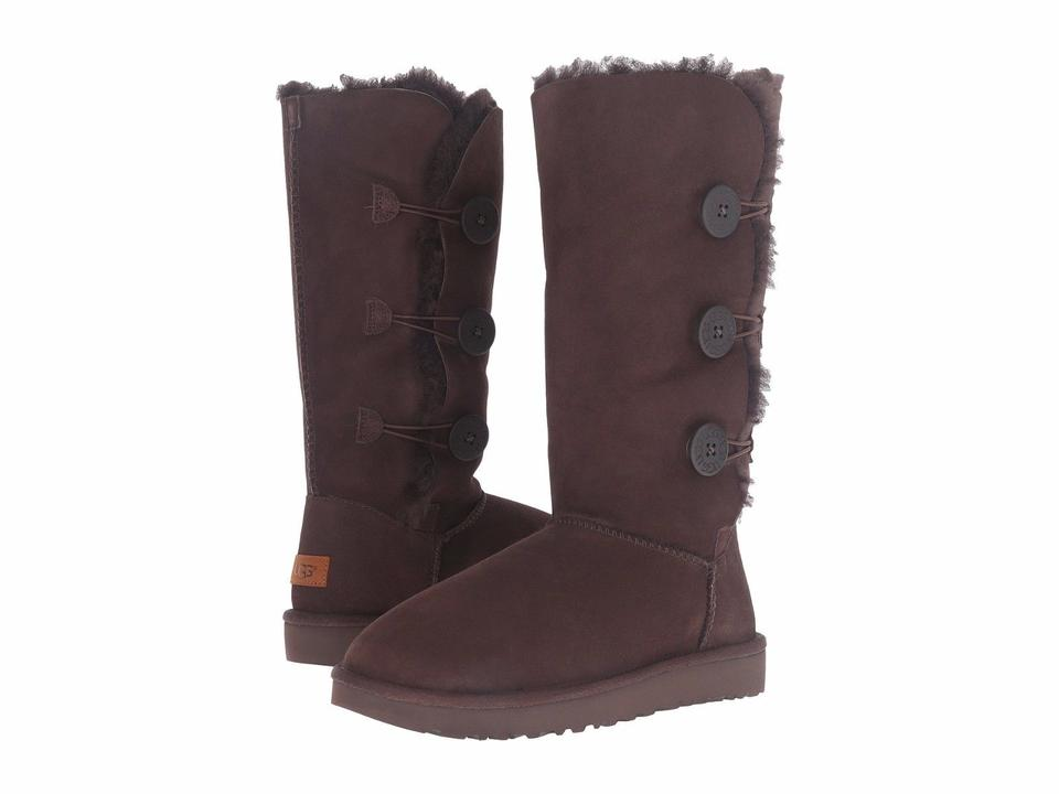8e8fa6f5f10 UGG Australia Chocolate Women's Bailey Button Triplet Size11 1016227  Boots/Booties Size US 11 Regular (M, B) 25% off retail
