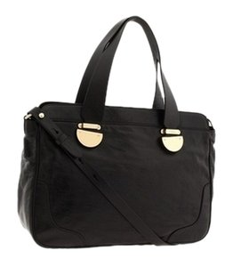 Cole Haan Leather Classic Tote in black