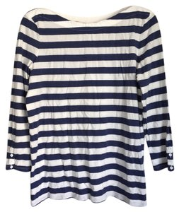 Gap T Shirt Blue And White