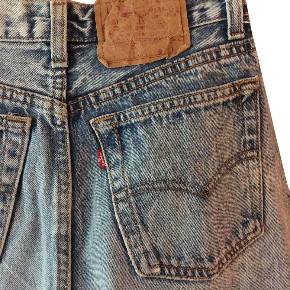 c4c0b393f9b Levi's Vintage 501 Hipster High Waist Usa Made Relaxed Fit Jeans-Distressed  Image 0 ...