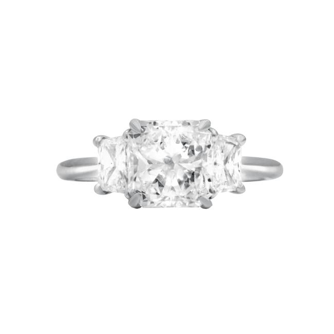 Diana M White Gia Certified 2.02cts Radiant Cut Diamond Ring Diana M White Gia Certified 2.02cts Radiant Cut Diamond Ring Image 1