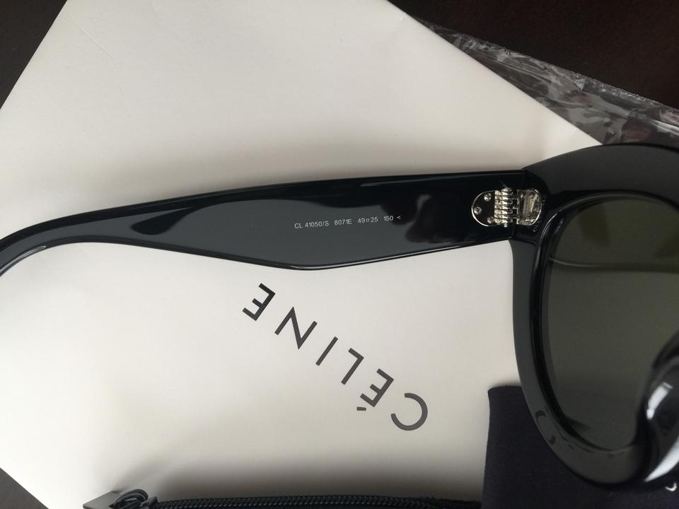 b945ce70c65 Céline Black High End Fashion Cl Caty Sunglasses - Tradesy