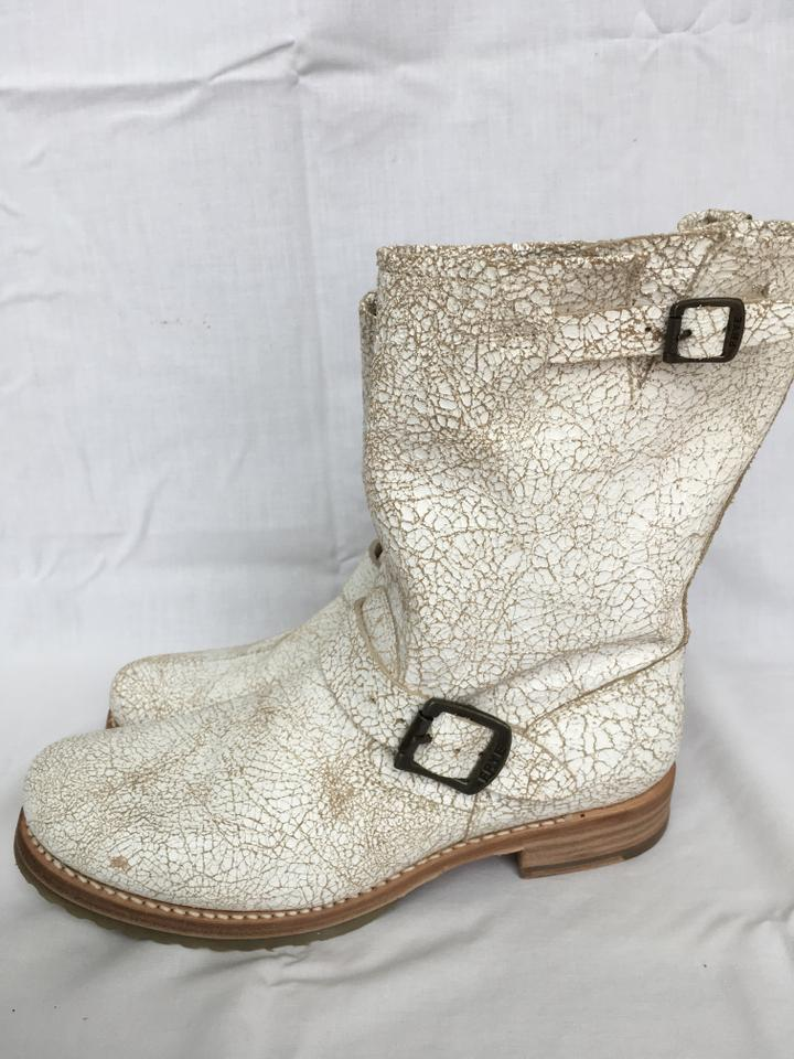 Frye Boots/Booties White Made In Mexico Boots/Booties Frye 06640a