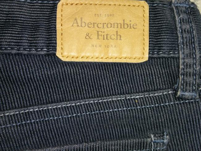 abercrombie & Fitch Boot Cut Pants navy