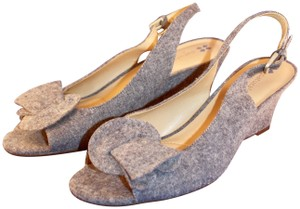 Naturalizer Fabric blue Wedges