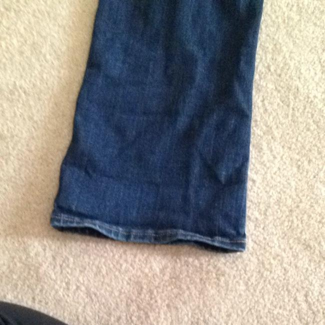 Abercrombie & Fitch Boot Cut Jeans-Dark Rinse
