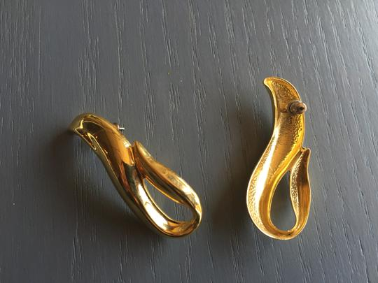 Other Gold Wave Earrings