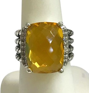 David Yurman David Yurman Wheaton Citrine Ring