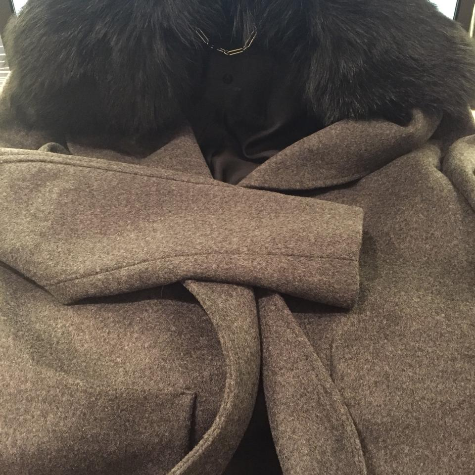 Coat Fur Black Breyan Charcoal Belstaff 1vSIpwqqB
