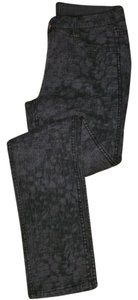 Calvin Klein Straight Pants black gray