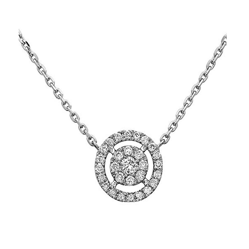 Crush fancy white gold maria 18k womens round solitaire crush fancy maria 18k white gold womens round solitaire diamond pendant mozeypictures Image collections